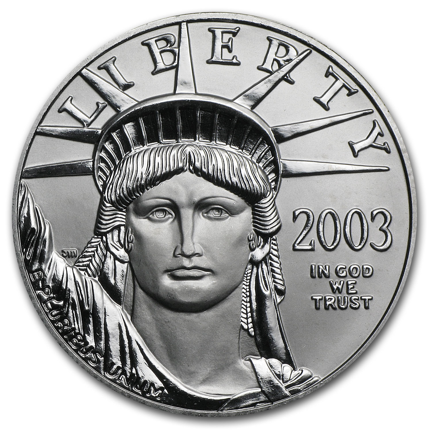 2003 1 oz Platinum American Eagle BU